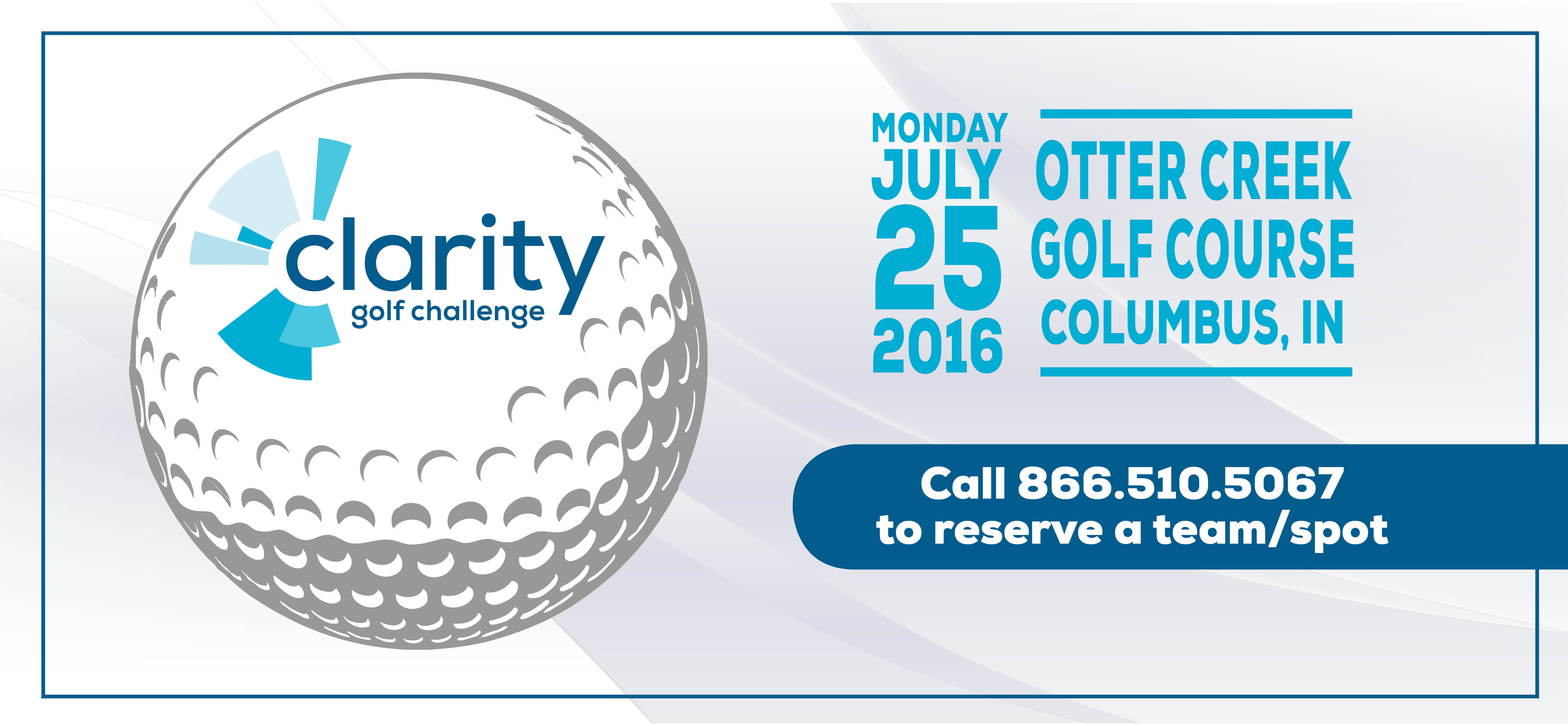 Clarity Golf Challenge 2016