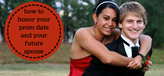 Honor your prom date while honoring your future spouse
