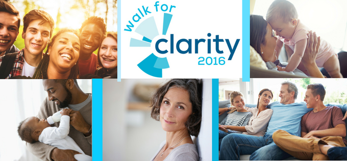 Join Us at Walk for Clarity 2016