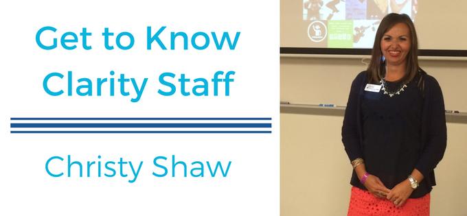 Meet Christy Shaw
