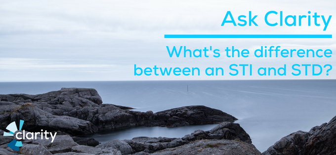 What's the difference between an STI and STD?
