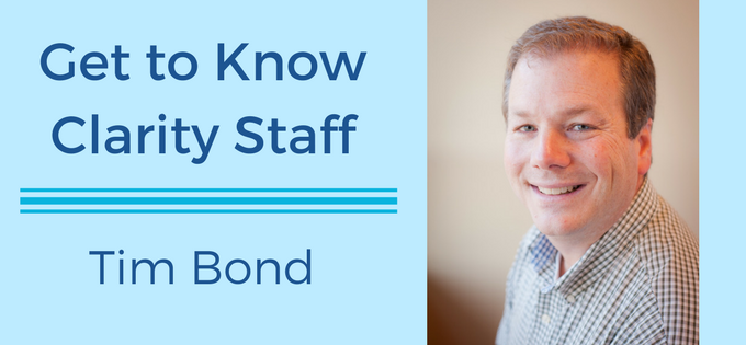 Meet Tim Bond