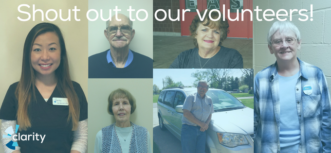 Shout Out to Our Wonderful Volunteers!